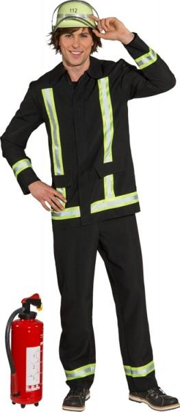 Fasching Kostüm Herren Feuerwehr Mann