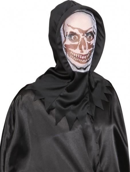 Fasching Halloween Horror-Maske weiß