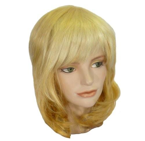 Faschingsperücke Damen: Denise, blond