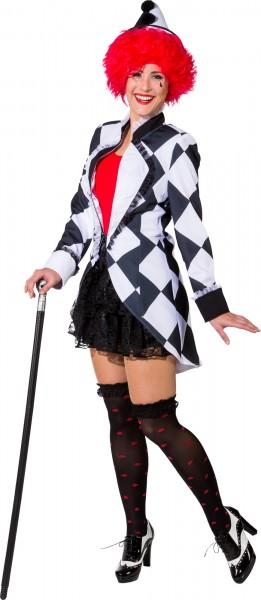 Fasching Kostüm Damen Pierrot Jacke