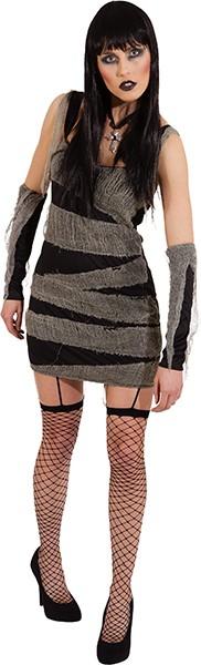 Mumie (Kleid, Handstulpen) in den Größen 34/36 und 38/40