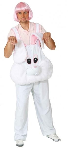 Bunny Boy (Latzhose mit Kopf) - Größe: 48/52 - 54/58