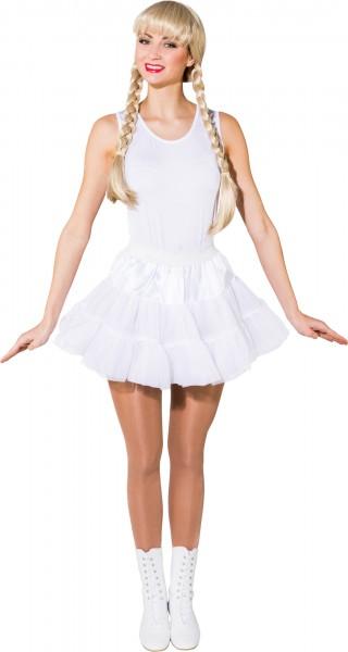 Petticoat - weiß, 3-lagig