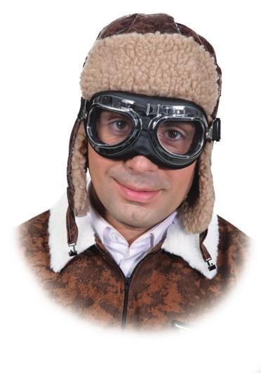 Fliegerbrille, Brille mit Gummiband
