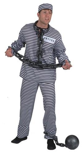 Fasching Gefangener Sträflingsketten