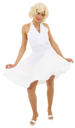 M. Kleid, weiß - Größe: 36 - 54