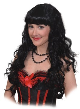 Perücke Patricia, schwarz