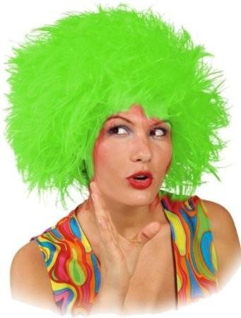 Faschingsperücke Damen: Struwel, grün
