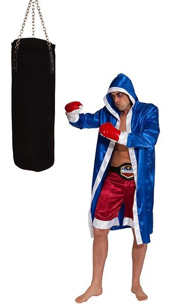Boxer-Set (Umhang, Shorts, Handschuhe) - Größe: Unisize