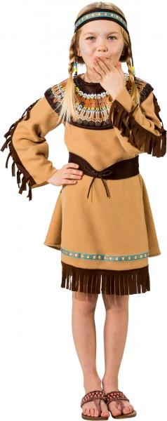 Fasching Kostüm Kinder Indianer Mädchen