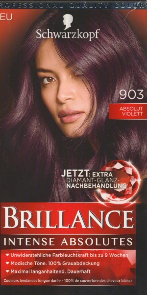 Brillance Intensiv-Color-Creme, 903 Absolut Violett