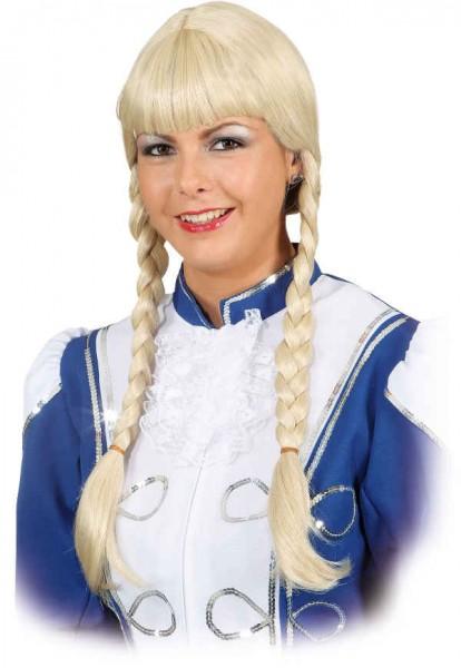 Profi-Tanzperücke, blond