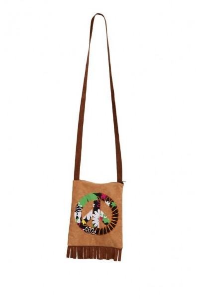 Peace-Tasche Blumenwiese