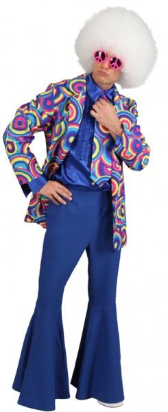 Anzug Crazy, blau (Jacke und Hose) - Größe: 44/46 - 56/58