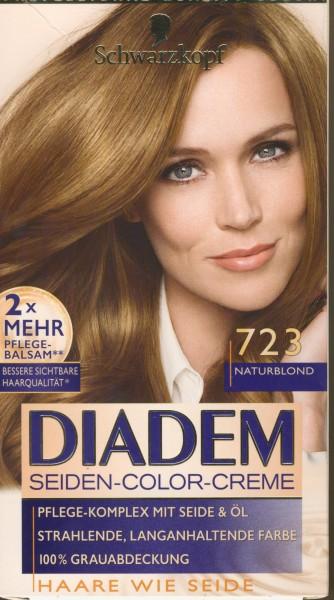 Schwarzkopf Diadem Seiden Color Creme 723 Haarfarbe Naturblond