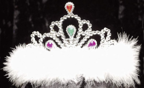 Faschingszubehör Krone Prinzessin Beauty-Diadem