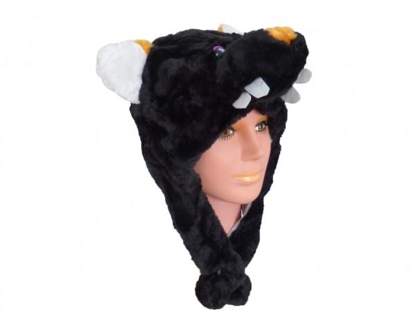 Tiermütze Plüsch Mütze Ratte