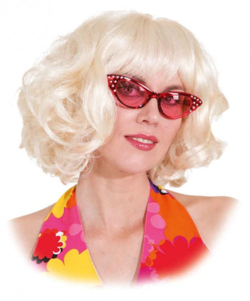 Perücke Music Lady, blond