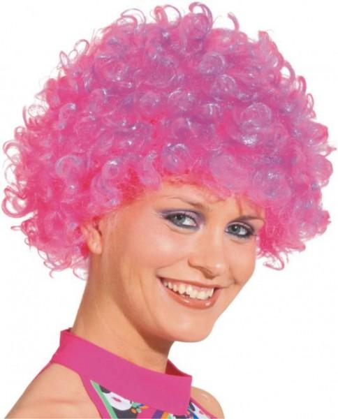 Hair kleine Locke, neongelb, neongrün, neonpink, neonorange