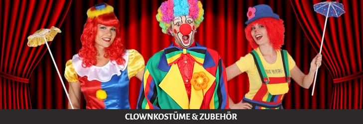 Clownkostüme und Zubehör