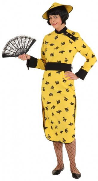 China Woman (Kleid, Gürtel) - Größe: 38 - 48