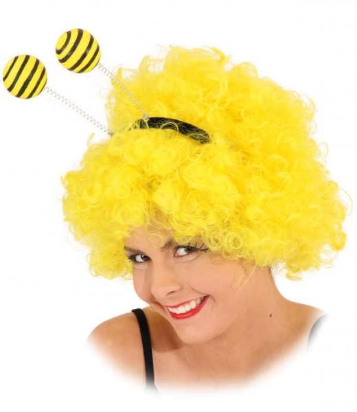 Haarreif Biene, große Kugeln mit Streifen