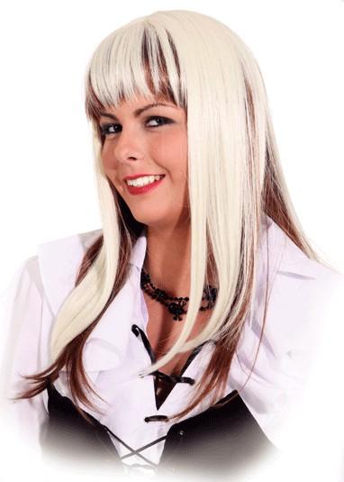 Perücke Shirley, blond-braun
