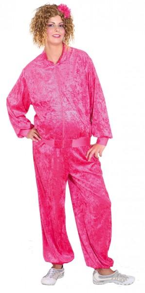 Jogginganzug Pummelfee pink (Jacke, Hose)