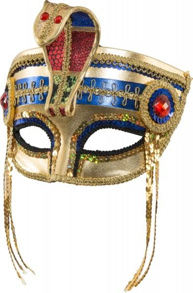 Fasching Maske Pharao