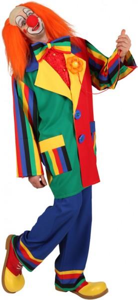 Clownjacke - Größe: 46/48 - 58/60