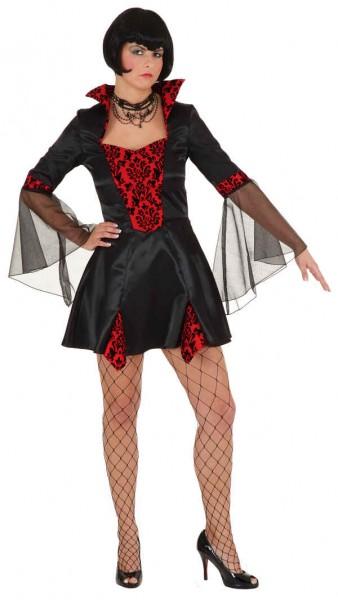 Sexy Vampirlady (Kleid) - Größe: 36 - 44