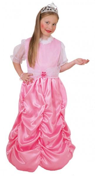 Faschingskostüm Kinder Prinzessin Bella rosa, nur Kleid