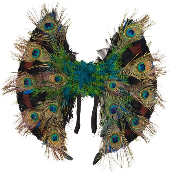 Faschingszubehör: Paradiesvogel-Flügel
