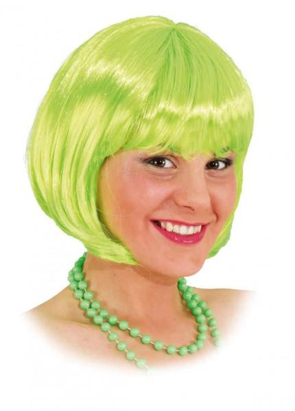 Perücke Sexy Lola, neon-grün
