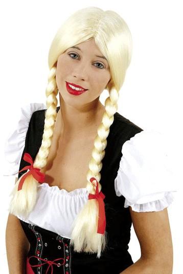 Perücke Heidi, blond