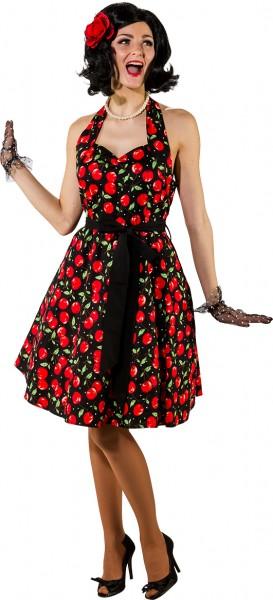 Kleid Rockabilly Kirsche - Rock´n Roll Kleid