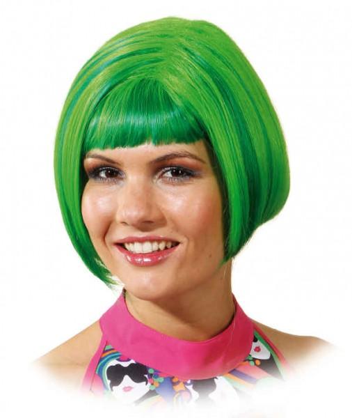Perücke Pop-Girl, grün
