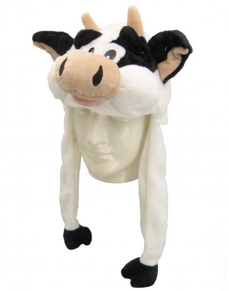 Plüsch Mütze Kuh 55 cm