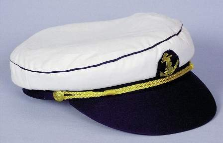 Mütze Kapitän mit Anker, KW 56, 60