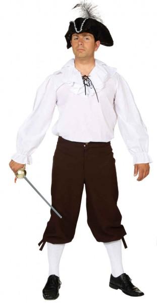 Fasching Kostüm Herren Kniebundhose braun