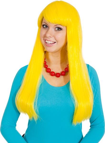 Perücke Monika, gelb