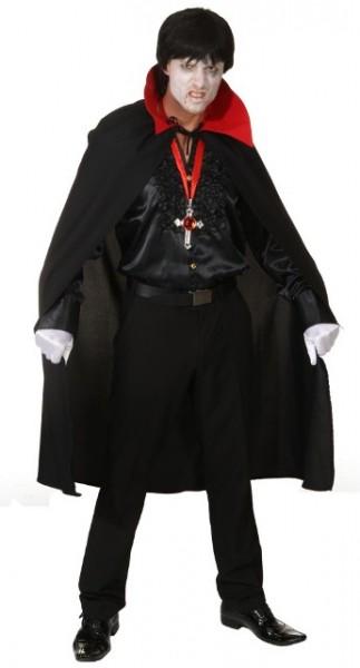 Faschingskostüm Dracula Umhang - Einheitsgröße