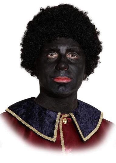 Perücke Schwarzer Piet