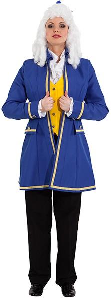 Lady-Jacke, blau (mit Futterstoff und Innentasche) in den Größen 36 bis 48