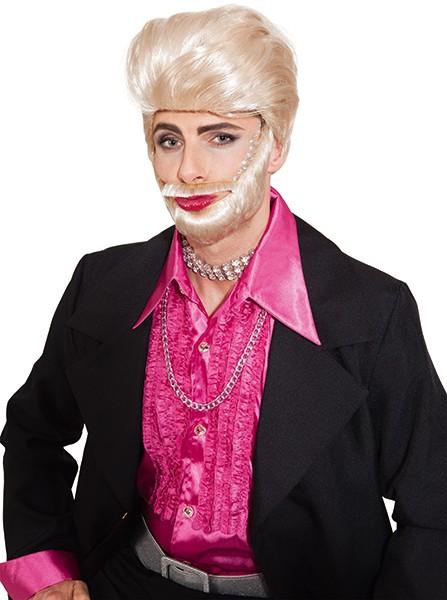 Perücke Show Man, blond