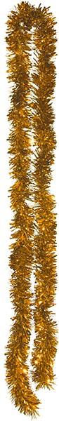 Foliengirlande Ø 10 cm, 10 m lang in gold und silber