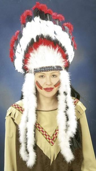 Faschingszubehoer Indianerfederschmuck