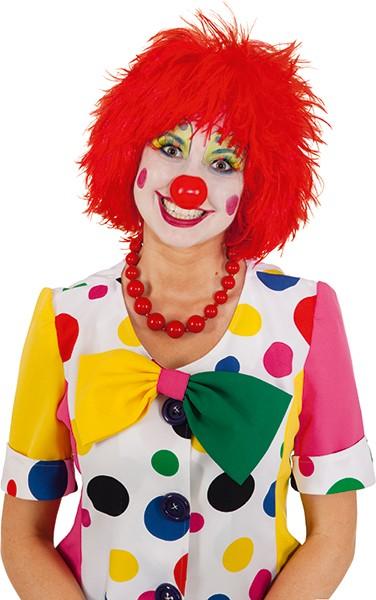 Perücke Clown, rot