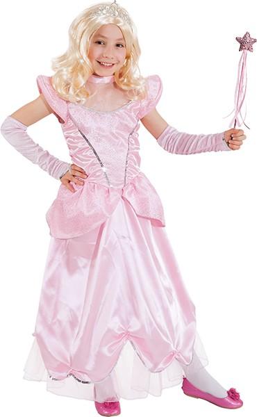Schloßprinzessin, rosa - Größe: 104 - 140
