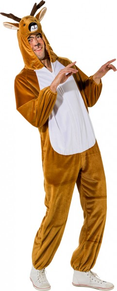 Fasching Kostüm Erwachsene Overall Reh